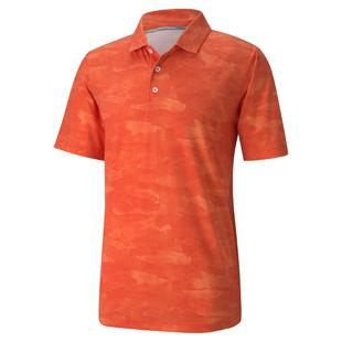 Men's Solarized Camo Short Sleeve Polo