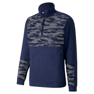 Men's Cloudspun Camo Stealth 1/4 Zip Pullover