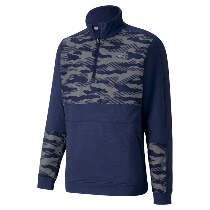 Men's Cloudspun Camo Stealth 1/4 Zip Pullover