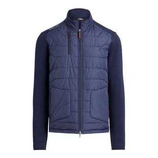 Men's Nylon/Coolwool Long Sleeve Full Zip