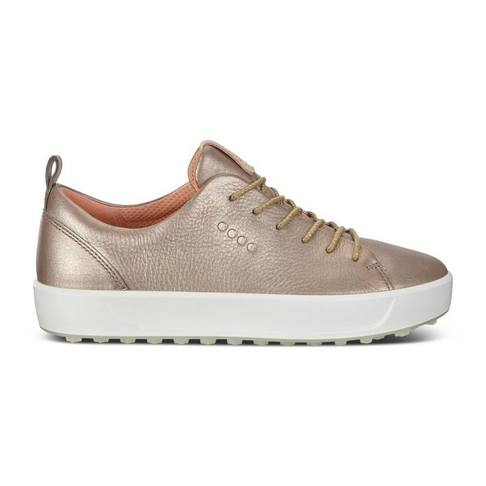 Chaussures Golf Soft sans crampons pour femmes - Rose/Or