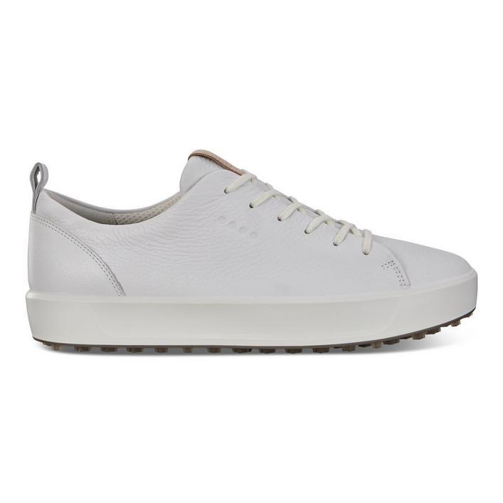 Chaussures Golf Soft Nubuck sans crampons pour hommes - Blanc