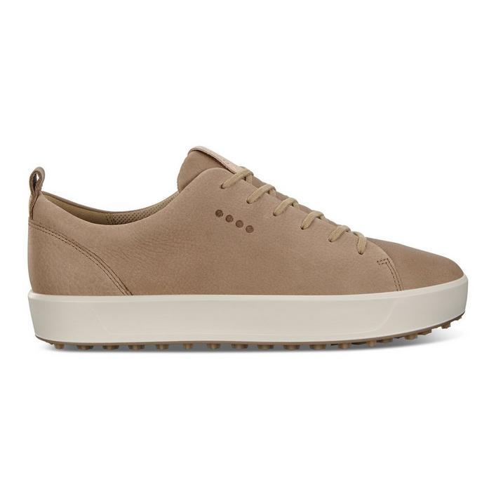 Chaussures Golf Soft Nubuck sans crampons pour hommes - Brun