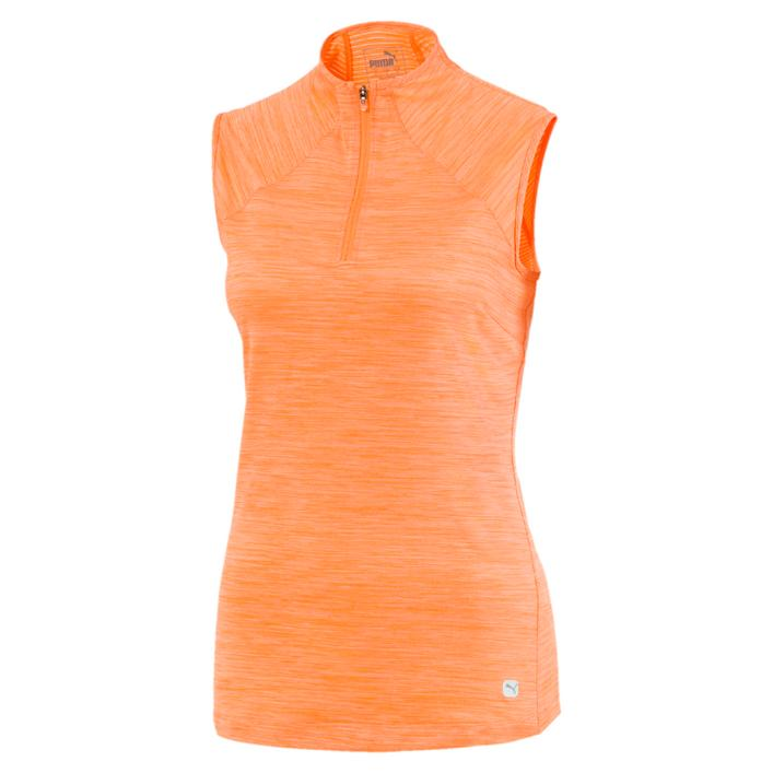 Women's Daily Golf Mockneck Sleeveless Top