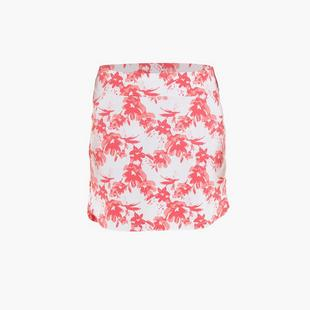 Jupe-short Ling à imprimé floral de 18 po pour femmes
