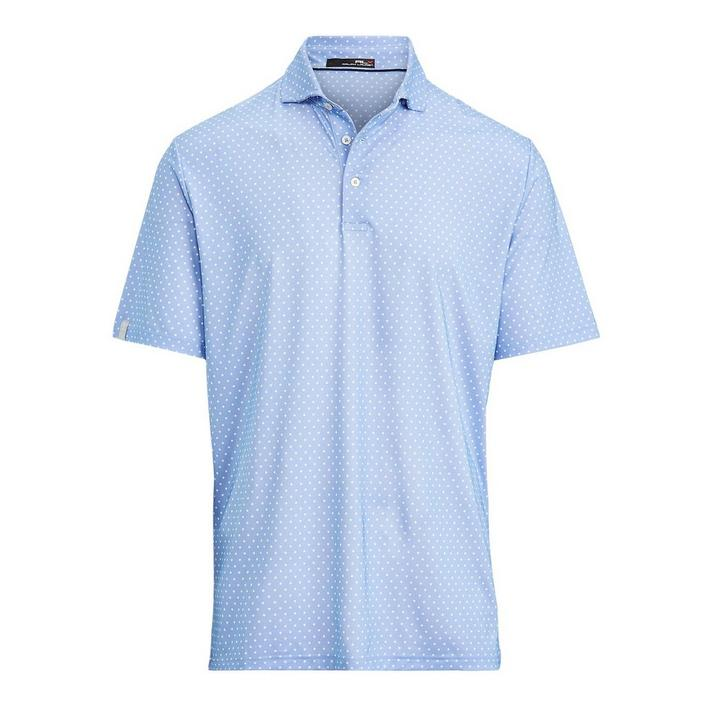 Men's Printed Lightweight Airflow Short Sleeve Polo