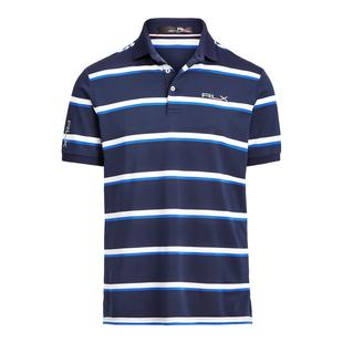Men's Lightweight Yarn Dyed Tech Piqué Short Sleeve Polo