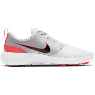 Chaussures Roshe G sans crampons pour hommes - Blanc/Gris/Rouge