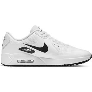 Chaussures Air Max 90 G sans crampons pour hommes - Blanc/Noir
