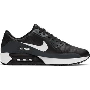 Chaussures Air Max 90 G sans crampons pour hommes - Noir/Gris/Blanc
