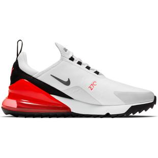 Men's Air Max 270 G Spikeless Golf Shoe - White/Grey/Red