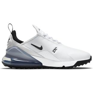 Chaussures Air Max 270 G sans crampons pour hommes - Blanc/Noir