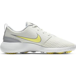 Women's Roshe G Spikeless Golf Shoe - Ivory/Yellow