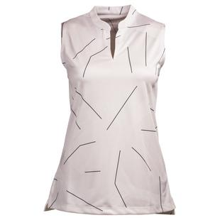 Women's Victory Course Printed Sleeveless Polo