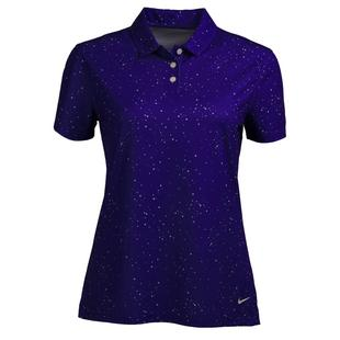 Women's Dri-Fit Victory Dot Printed Short Sleeve Polo