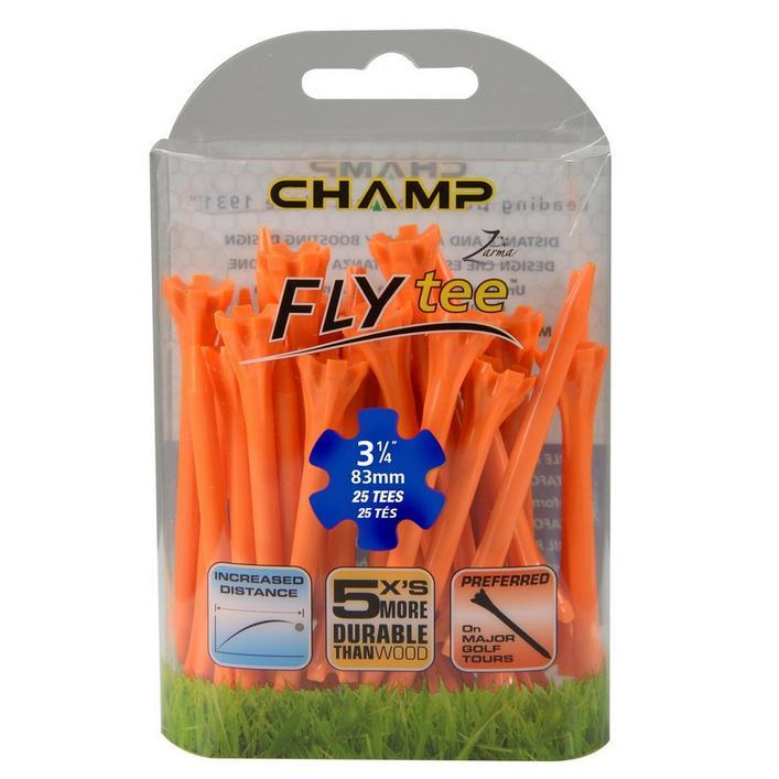 FLYtee 25 Pack - 3-1/4 Inch