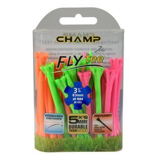 FLYtee Neon 25 Pack - 3-1/4 Inch