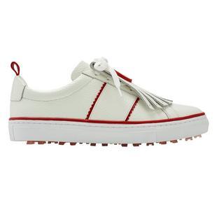 Chaussures Kiltie Disruptor sans crampons pour femmes - Blanc/Rouge (Édition limitée)