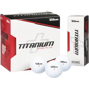 Titanium 18 Pack Golf Balls