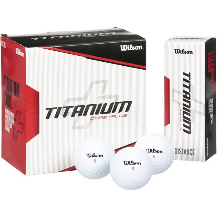 Titanium 18 Pack Golf Balls