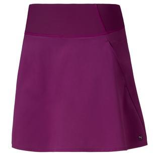 Jupe-short PWRSHAPE unie tissée de 16 po pour femmes