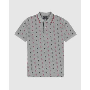 Men's Keesey All Over Print Short Sleeve Polo