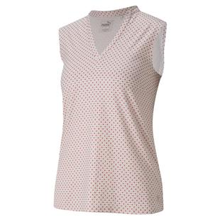 Women's Cloudspun Speckle Sleeveless Polo