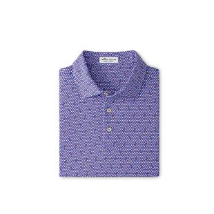 Men's Juke Printed 8-Ball Jersey Short Sleeve Polo