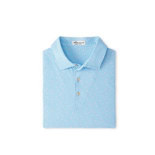 Men's Market Printed Triangle Short Sleeve Polo