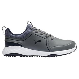 Chaussures Grip Fusion 2.0 sans crampons pour hommes - Gris/Bleu marine