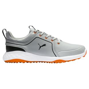 Men's Grip Fusion 2.0 Spikeless Golf Shoe - Grey/Orange