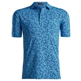 Polo Abstract Floral pour hommes