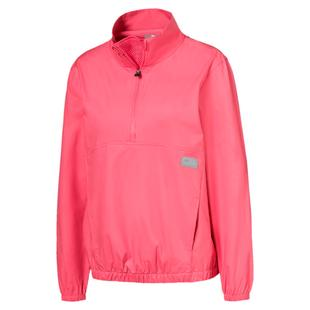 Women's Half Zip Windbreaker Jacket