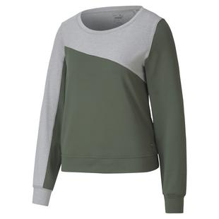 Women's Cloudspun Colourblock Crew Sweater