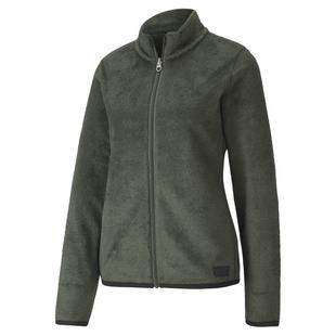 Women's Sherpa Fleece Full Zip Jacket