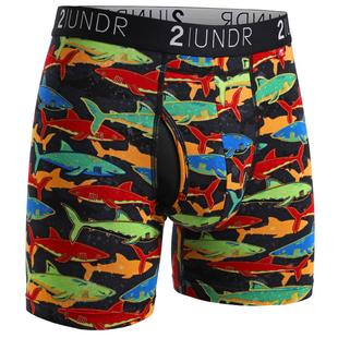 Men's Swing Shift Boxer Brief - Shark Fest