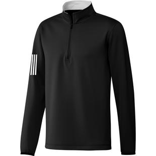 Men's 3-Stripe Midweight 1/4 Zip Pullover