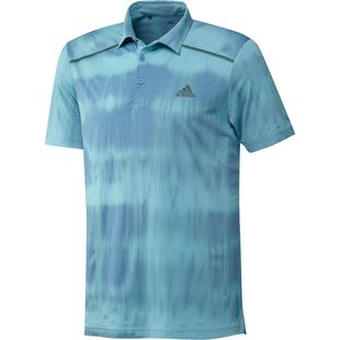Men's Space Dye Short Sleeve Polo