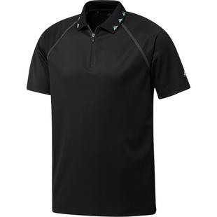 Men's Equipment Zip Short Sleeve Polo