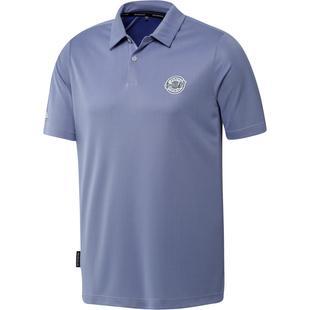 Men's Prime Blue Pique Short Sleeve Polo