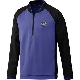 Men's Prime Blue 1/4 Zip Wind Pullover