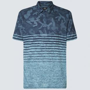 Polo rayé camouflage pour hommes