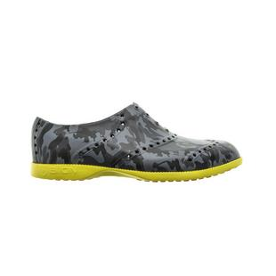 Men's Oxford Pattern Spikeless Shoe - Black Camo