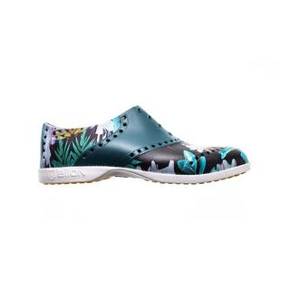 Chaussures Oxford Pattern sans crampons pour hommes - Jungle Night