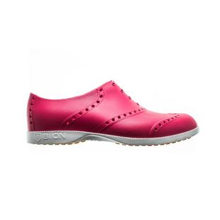 Women's Oxford Bright Spikeless Shoe - Hot Pink/White