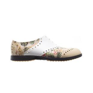 Chaussures Oxford Pattern sans crampons pour femmes - Tropical