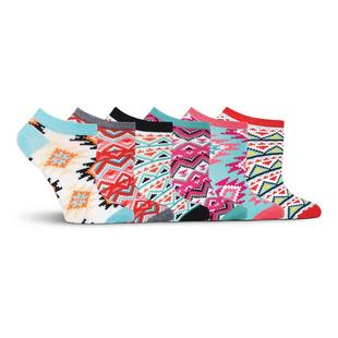 Women's Aztec Low Cut Sock - 6 Pack