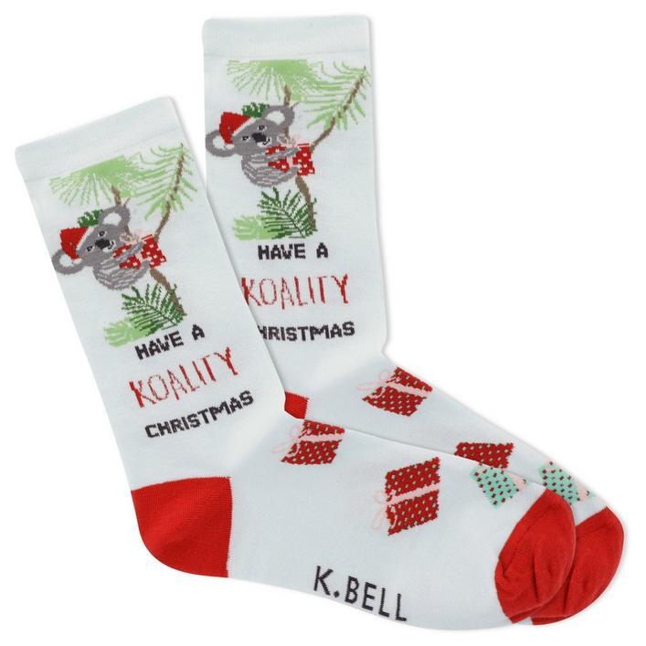 Women's Koality Christmas Crew Sock