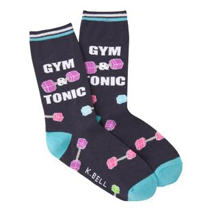 Women's Gym N Tonic Crew Sock
