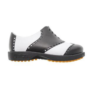 Junior Classic Spikeless Shoe - White/Black